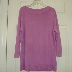 Croft & Barrow Long Sleeve Pullover Sweater Size M